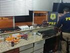 Motorista é preso com anabolizantes e medicamentos trazidos do Paraguai