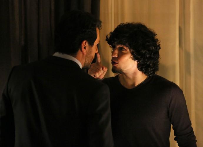 Guilherme enfrenta Alex (Foto: Isabella Pinheiro / Gshow)
