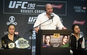 """Bethe minimiza revés contra Ronda no Rio: """"Mike Tyson também já perdeu"""""""