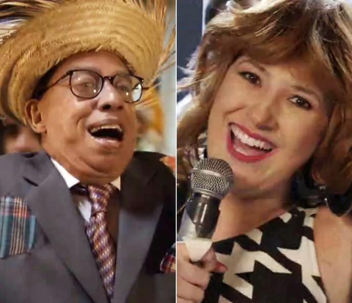 'Zorra' dá show musical! (Foto: TV Globo)
