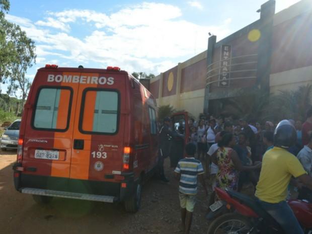Explosão em motel na Bahia deixou feridos (Foto: Anderson Oliveira/Blog do Anderson)