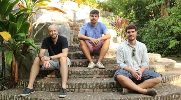 Os três sócios investiram R$20 mil para abrir a startup (Foto: Divulgação)