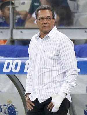 Cruzeiro; Vanderlei Luxemburgo (Foto: Washington Alves/Light Press)