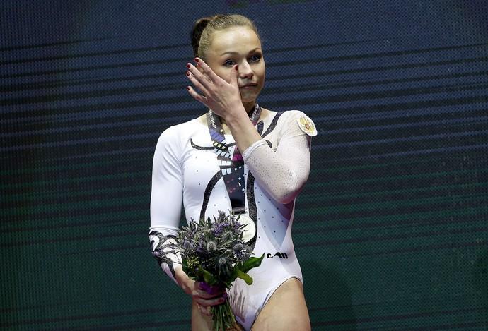 Maria Paseka ginástica russia glasgow mundial pódio (Foto: Reuters)