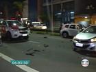 'Só pedia para  nada acontecer', diz motorista que ficou em meio a tiroteio