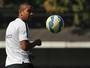 """David Braz pede cautela ao Santos e alerta para """"resultado perigoso"""""""