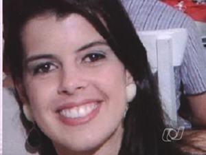 Sabrina Magalhães - atropelada na faixa de pedestres em Goiânia (Foto: Reprodução/TV Anhanguera)