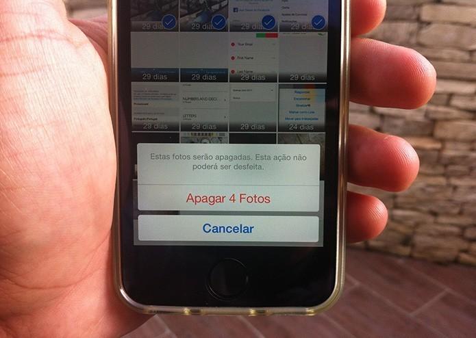Como selecionar várias fotos de uma só vez no iPhone? (Foto: Marvin Costa/TechTudo)