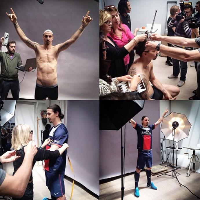 Ibrahimovic ganhará estátua em museu de Paris (Foto: Reprodução / Zlatan Unplugged)
