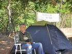 Agricultor faz greve de fome em frente ao TJMT após desapropriação
