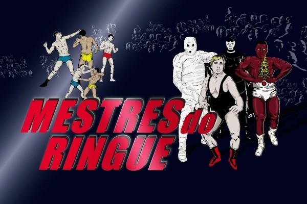Foto da abertura da nova série do Curtas Gaúchos intitulada 'Mestres do Ringue' (Foto: Divulgação RBS TV)