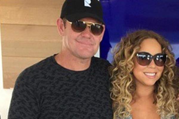 Mariah Carey e James Packer (Foto: Reprodução Instagram)
