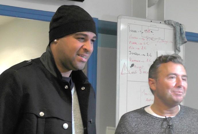 Adriano e maillol, Le Havre (Foto: Claudia Garcia)