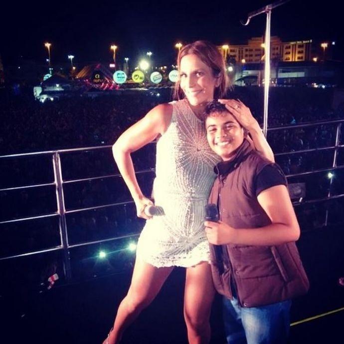 João Pedro e Ivete Sangalo já cantaram juntos no Fest Verão Sergipe (Foto: Instagram / joaopedroborgesoficial)