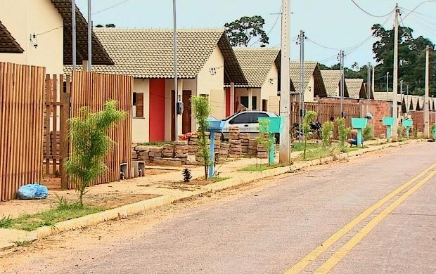 Projeto de urbanização do bairro atende a mais de 3,3 mil famílias vindas de áreas de risco (Foto: Acre TV)