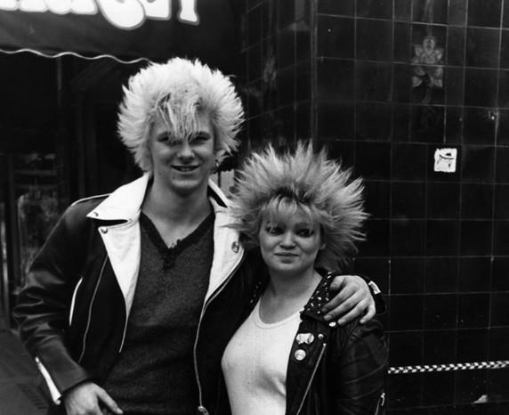 Moda punk: cortes de cabelo e penteados (Foto: Getty Images)