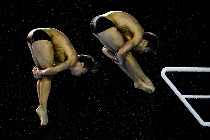 Copa do Mundo de saltos ornamentais - Tom Daley e Dan Goodfellow (Foto: Getty Images)