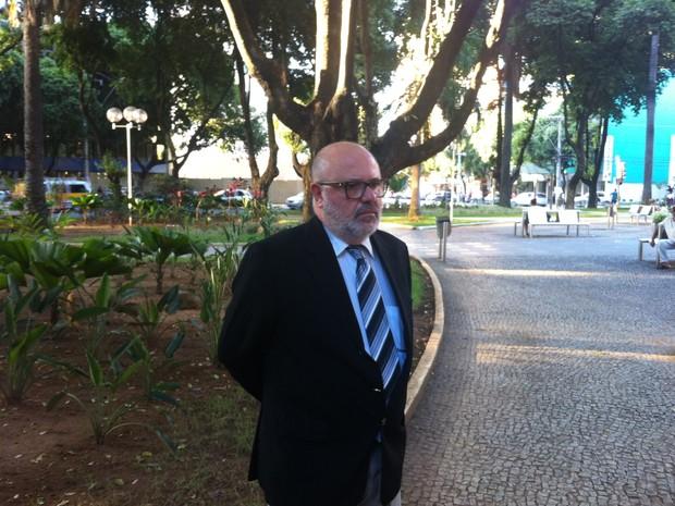 João Afonso Baeta promete dar sequência nas fiscalizações contra os transportes clandestinos (Foto: Diego Souza)