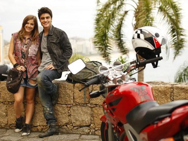 Que saudades :( LiTor vai acabar, glr! Mas os dois são tão lindos juntos, né? (Foto: Malhação / Tv Globo)
