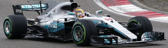 Lewis Hamilton Sebastian Vettel Formula 1 GP China (Foto: AP Photo/Mark Schiefelbein)