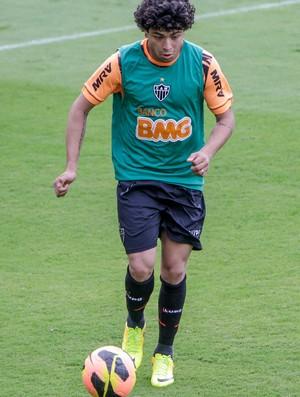 Luan, Atlético-MG, treino, Cidade do Galo (Foto: Bruno Cantini / Site Oficial do Atlético-MG)
