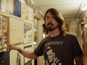 Cena do documentário 'Sonic Highways', dirigido por Dave Grohl, do Foo Fighters (Foto: Divulgação)