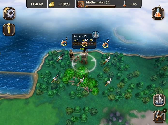 O jogo possui um visual agradável e uma jogabilidade que se distingue dos outros games da série Civilization (Foto: Reprodução/Daniel Ribeiro)