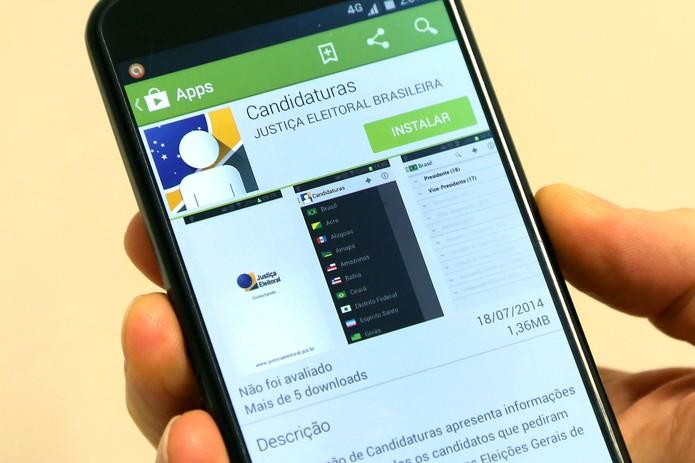 Aplicaitivo e página web ajudam brasileiros a escolher candidados para eleições (Foto: Divulgação/TSE)
