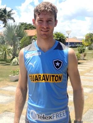 Bolatti novo jogador do Botafogo treino (Foto: Site Oficial do Botafogo / BFR)