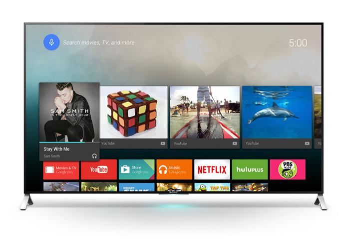 Android TV é restrito a televisores da Sony e da Philips no Brasil (Foto: Divulgação/Sony)