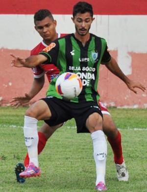 Sávio, atacante do América-MG (Foto: Divulgação/América-MG)
