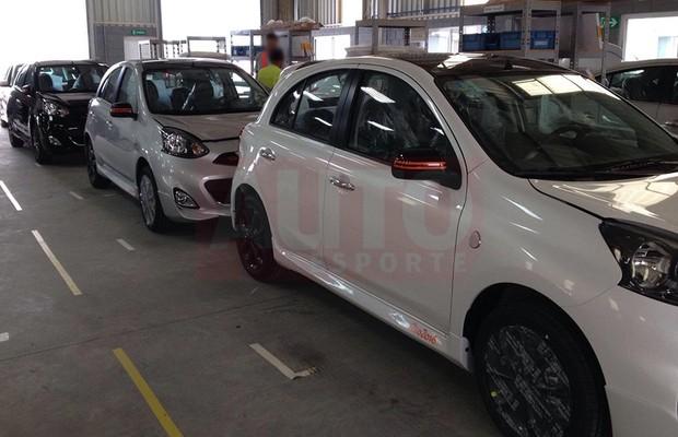 Edição especial Nissan March Rio 2016 prestes a ser lançada (Foto: Autoesporte)