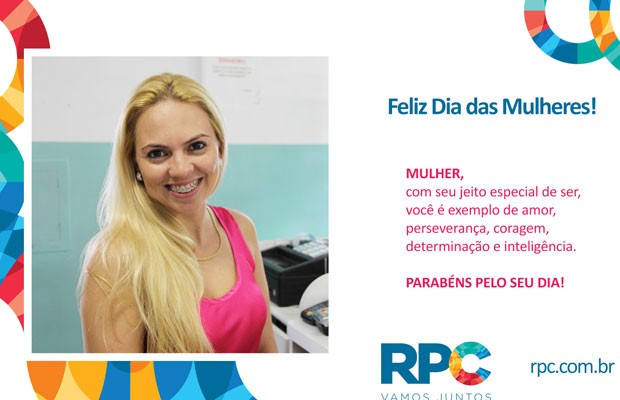 Além de se embelezar, no espaço da beleza, a mulherada também levou de brinde uma foto impressa pra guardar de lembrança  (Foto: Divulgação/RPC)