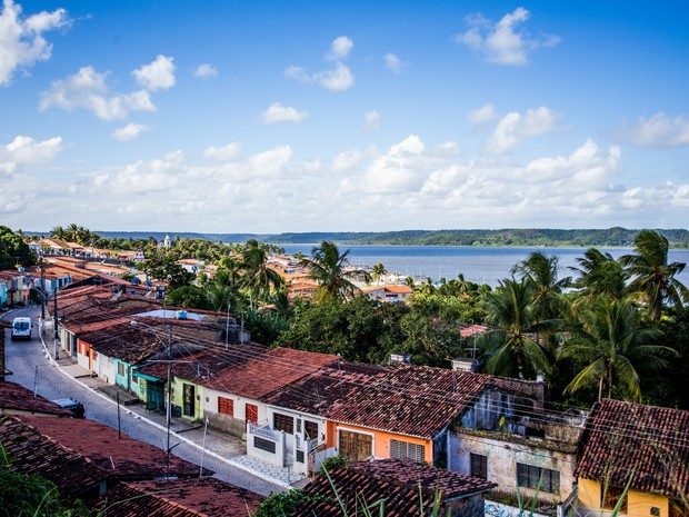 Vista do mirante da cidade que fica próximo a antiga cadeia de Marechal Deodoro. (Foto: Jonathan Lins/G1)