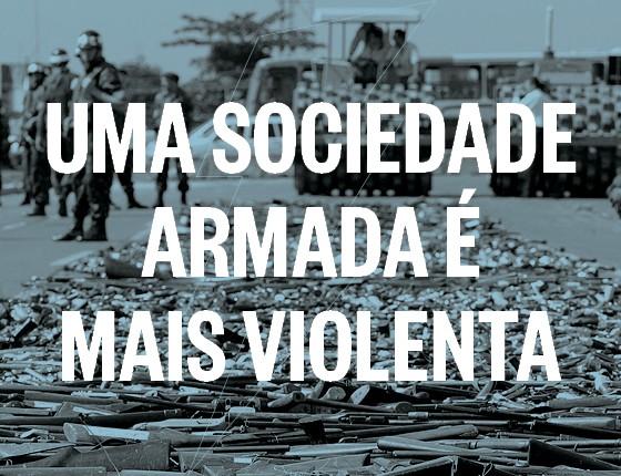 Uma sociedade armada é mais violenta (Foto: época )