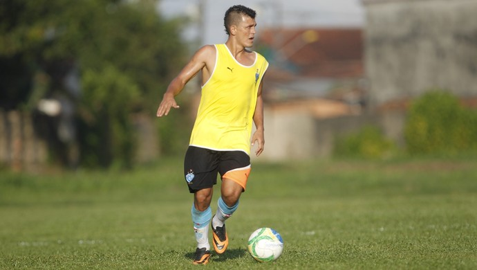 Ricardo Capanema durante treino Paysandu (Foto: Akira Onuma/O Liberal)