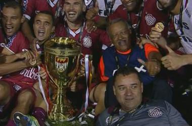 Sertãozinho campeão Série A3 (Foto: Divulgação / Sertãozinho FC)