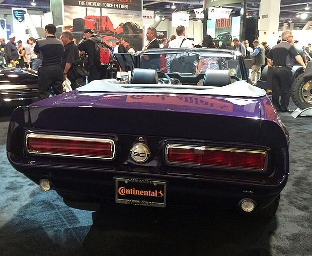 Ford Mustang 68 ganha versão modernizada no SEMA Show (Foto: Autoesporte)