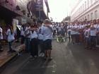 Caminhada reúne familiares de vítimas do incêndio em Santa Maria
