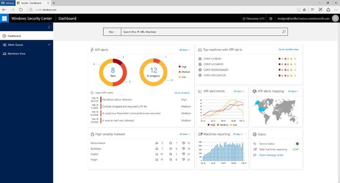 Windows 10 vai mostrar dados de segurança de dispositivos (Foto: Reprodução/Microsoft)
