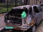 Com roubo em alta, carcaças de veículos se acumulam em ruas de SP