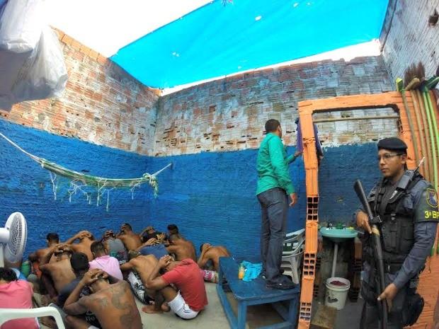 Na Unidade, onde 79 homens cumprem pena (Foto: Seap/Divulgação)