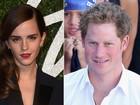 Emma Watson nega affair com Príncipe Harry