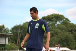 Zagueiro Braga do Luverdense (Foto: Assessoria/Luverdense Esporte Clube)