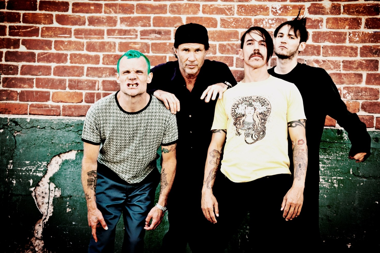 Red Hot Chili Peppers libera 'We Turn Red', faixa do disco 'The Getaway' (Foto: Divulgao)