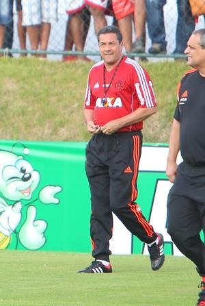 Vanderlei Luxemburgo - técnico do Flamengo (Foto: Alexandre Lago/GloboEsporte.com)