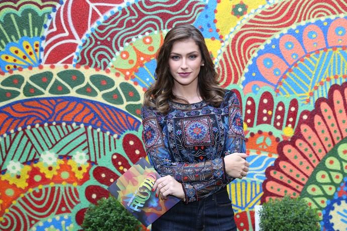 Renata Longaray: A bela trabalhava antes com telejornalismo (Foto: Carol Caminha/Gshow)