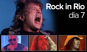 Iron Maiden e Slayer lideraram segunda noite dedicada ao metal (Arte/G1)