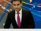 Terremoto obriga âncora de jornal a abandonar transmissão ao vivo