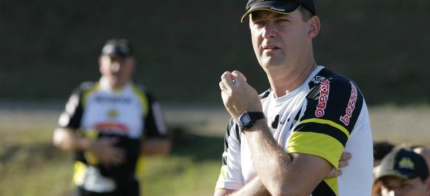 Wilson Vaterkemper, técnico da equipe júnior do Criciúma (Foto: Fernando Ribeiro, Divulgação / Criciúma EC)